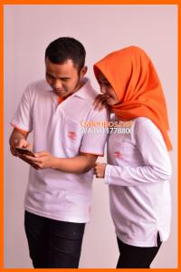 Seragam Kaos Kantor Pos Indonesia Pria dan Wanita