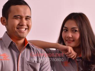 Seragam Kantor PT Pos Indonesia Hari Senin Untuk Pria dan wanita cover 2