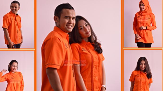 Seragam Kantor Dinas Hari Selasa Untuk Pria dan wanita Pos Indonesia